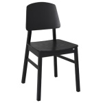 Verona chair black stain