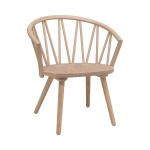 ZigZag lounge chair ash blonde