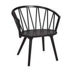 ZigZag lounge chair ash black