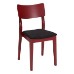 Piccolo chair dark red, assembled