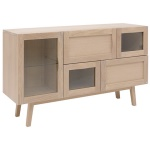 Rainbow sideboard 133cm ask blond